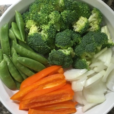 Prepared vegetables